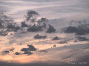 空の動きの様子