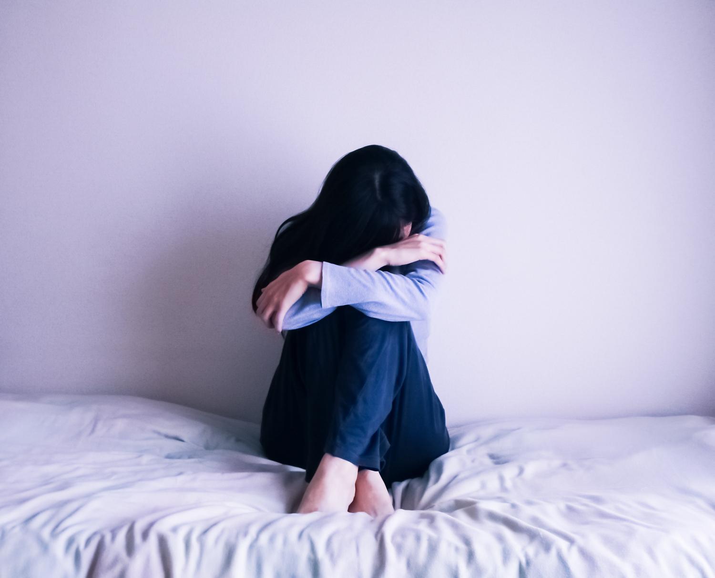 五月病に悩む女性