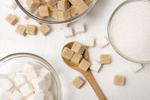 たくさんの砂糖
