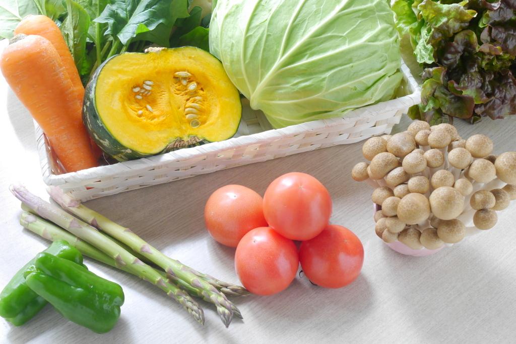 野菜を摂る