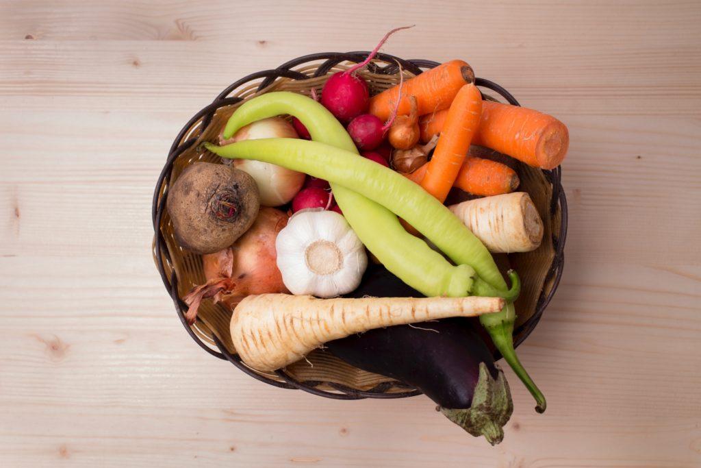 野菜のかご