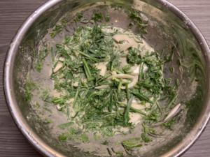 蕎麦粉チヂミの作り方