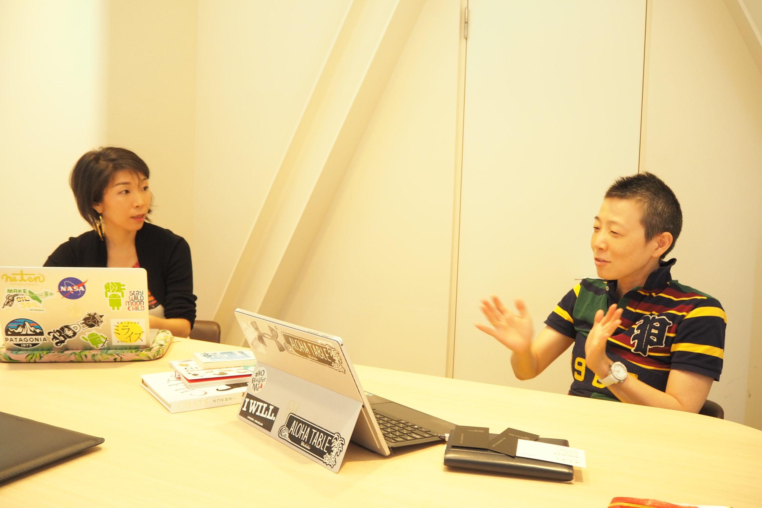 高尾美穂先生と桐村里紗先生