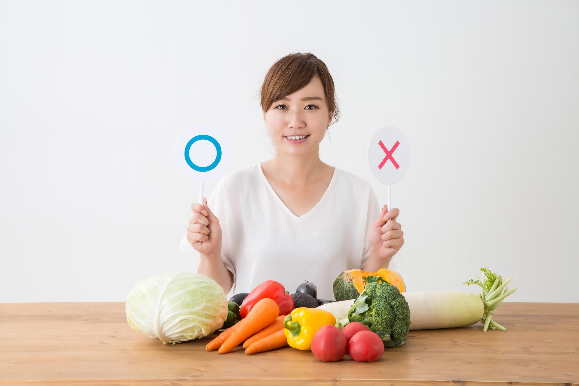 食品を選ぶ