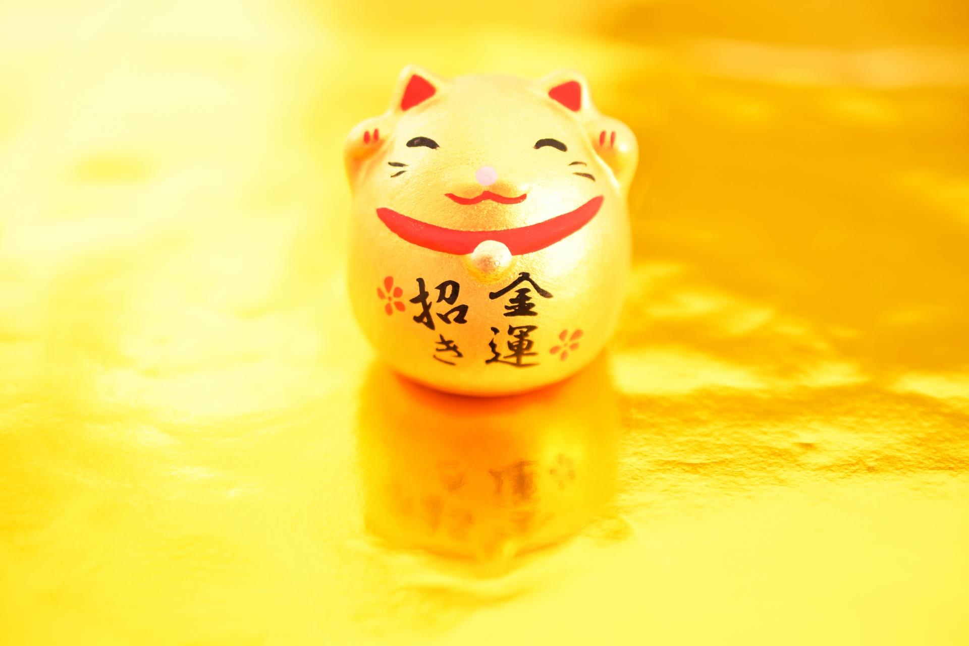 笑う門には福来たる招き猫