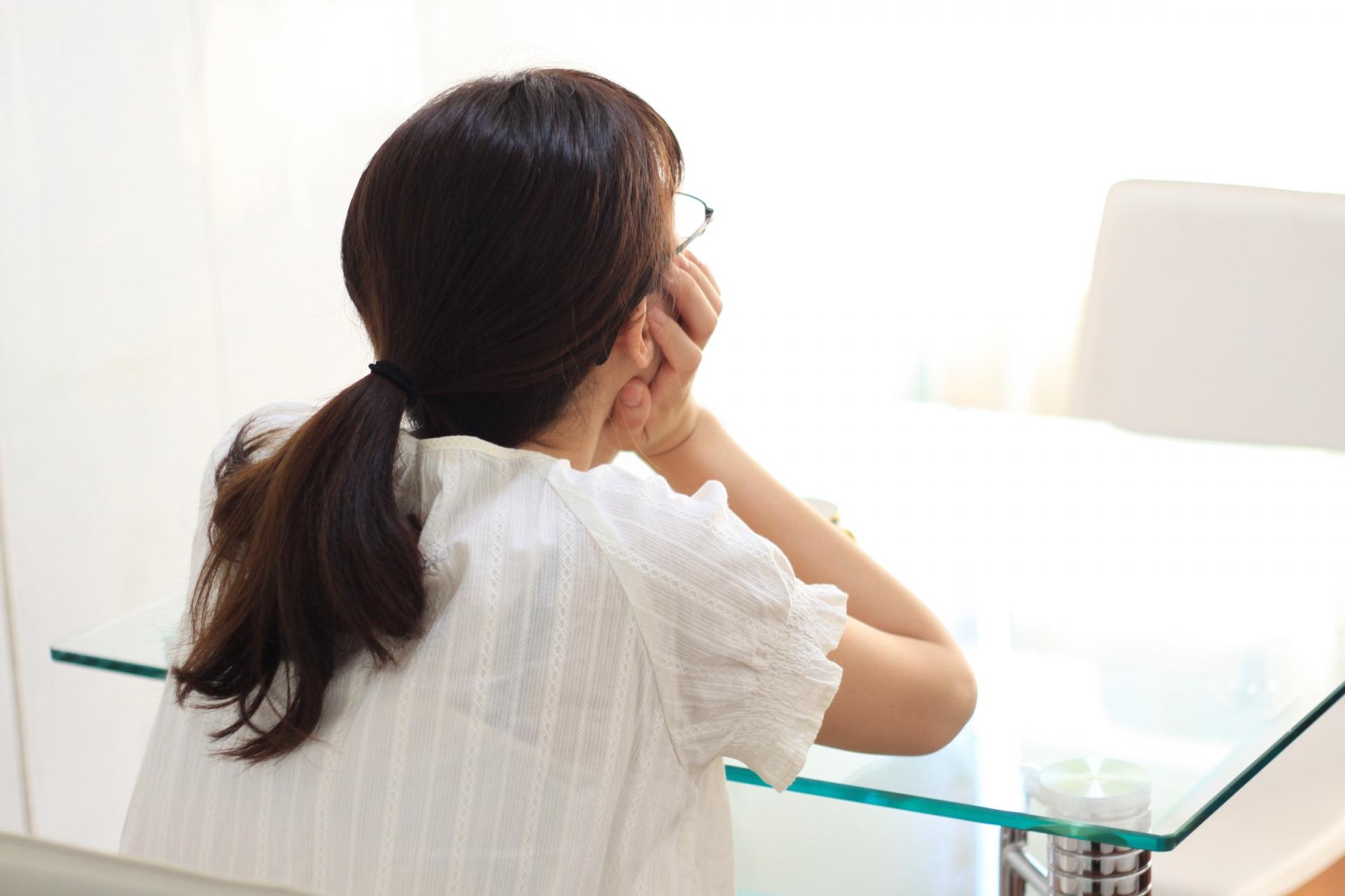 失感情症の女性