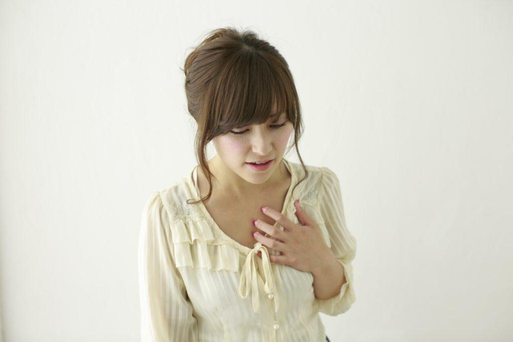 動脈硬化を心配する女性