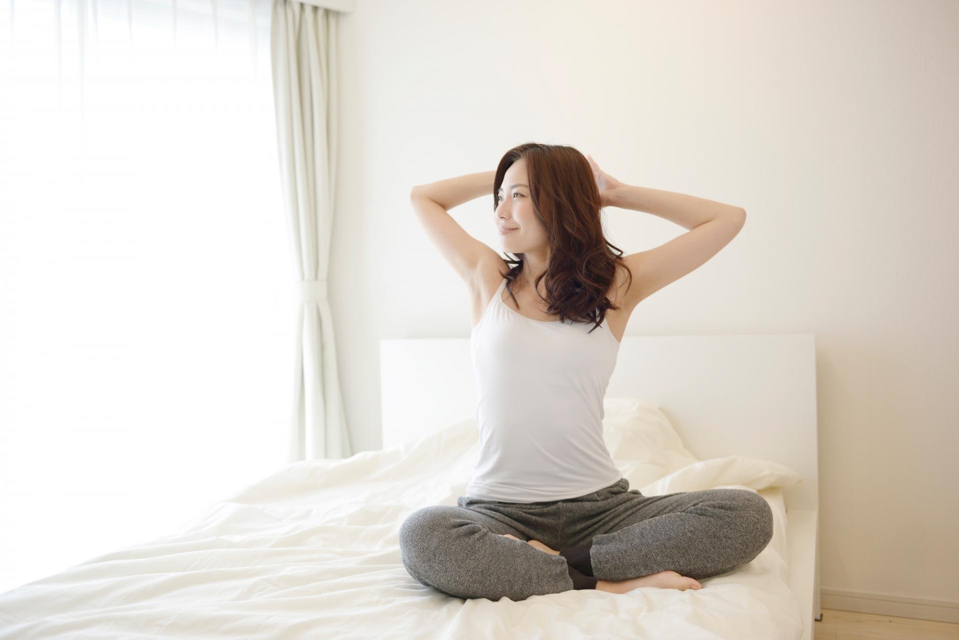 動脈硬化の予防に心がける女性