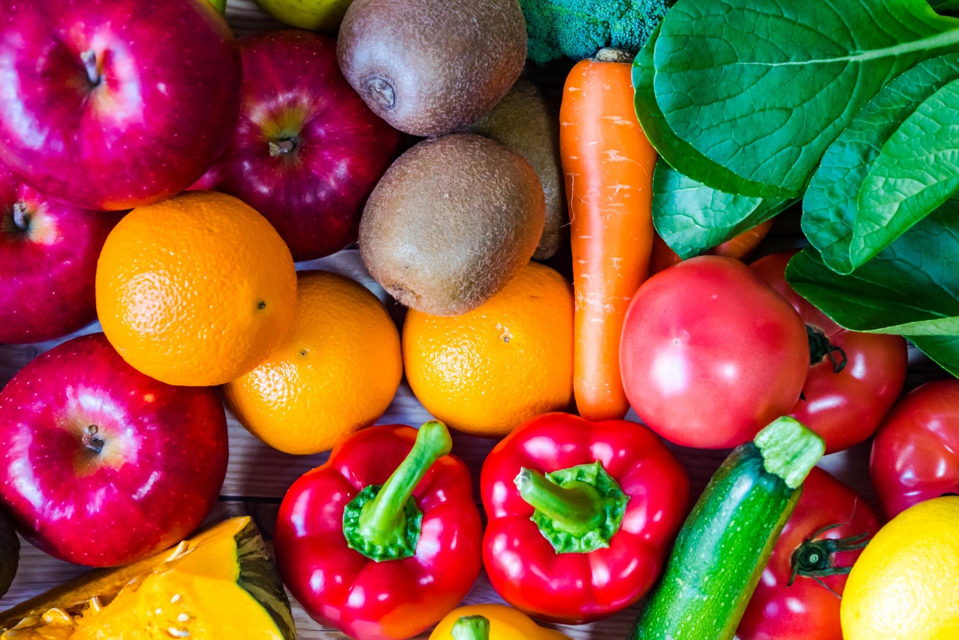 ビタミンCの入っている野菜や果物
