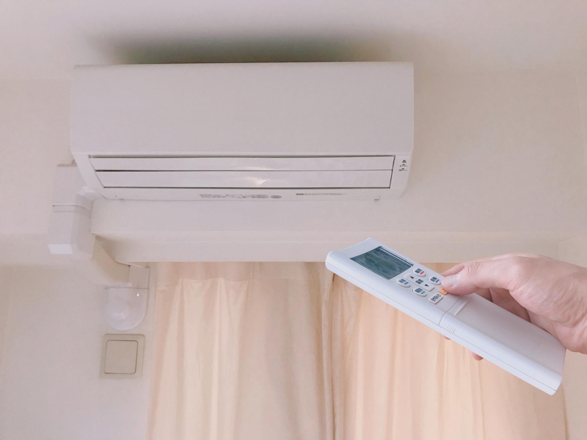 エアコンの設定をする
