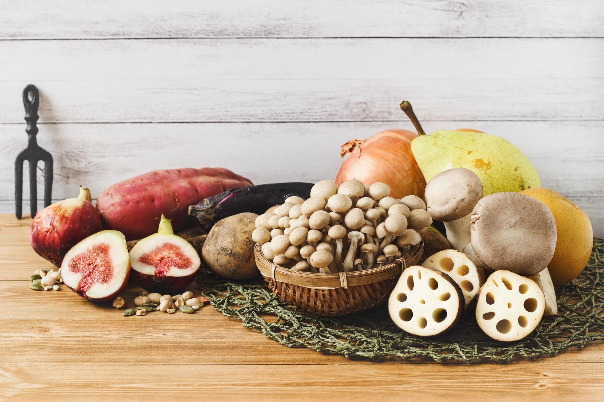 食物繊維の多い食材