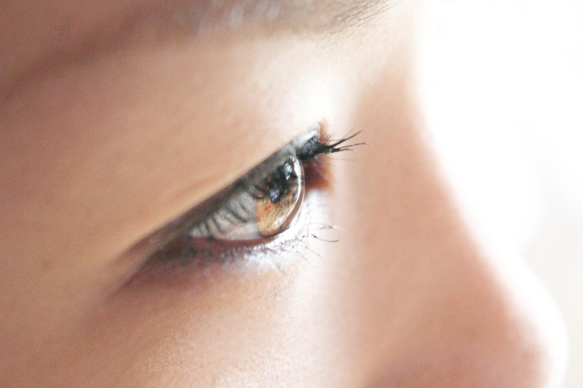目の周りの皮膚