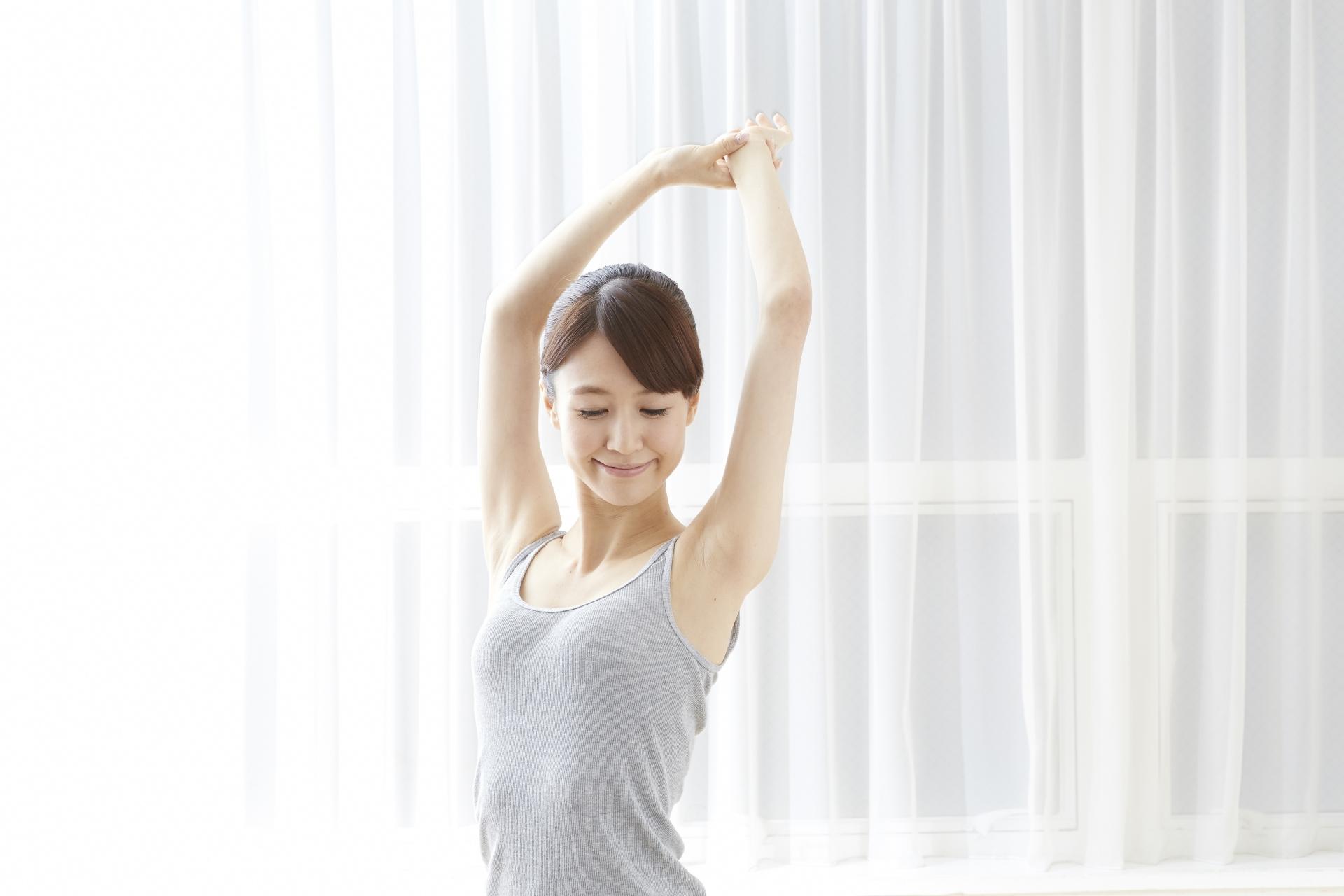 なかなかとまらない生理、生活習慣の改善