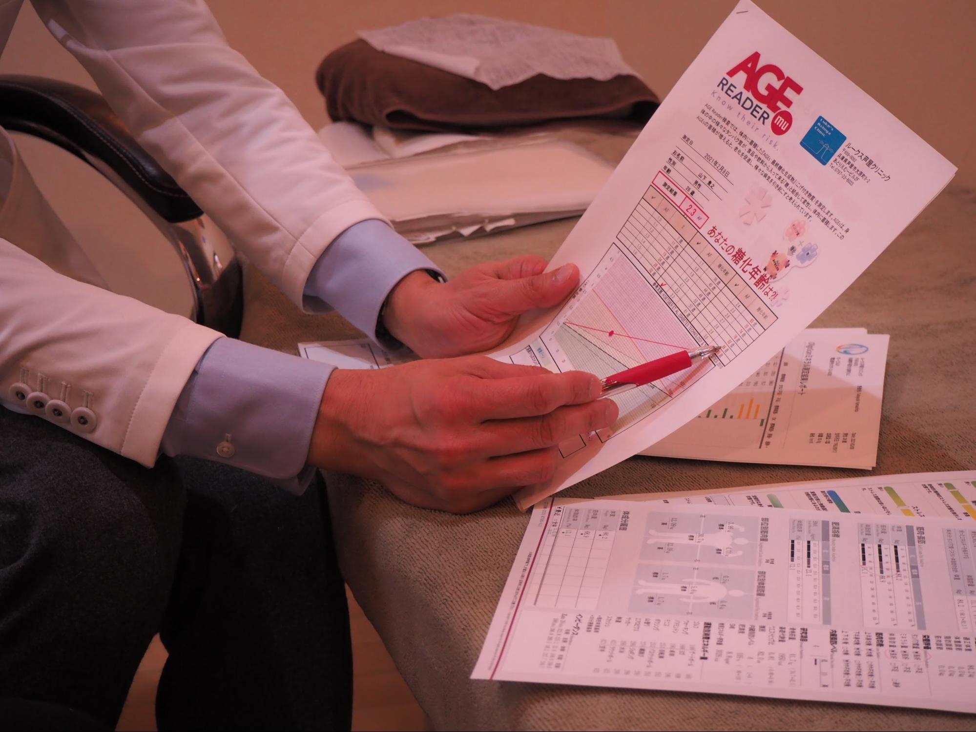 終末糖化産物(AGEs)検査