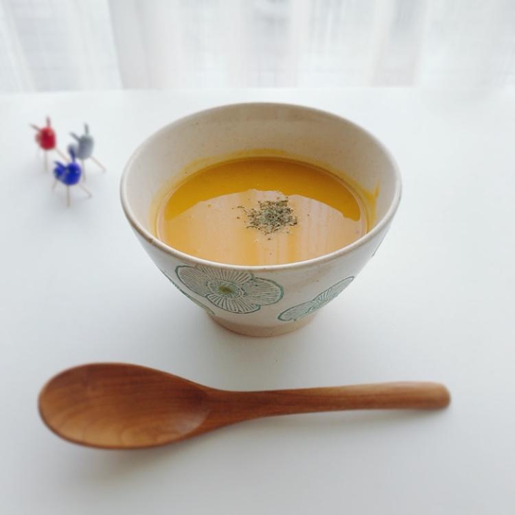 かぼちゃと甘酒のポタージュスープ
