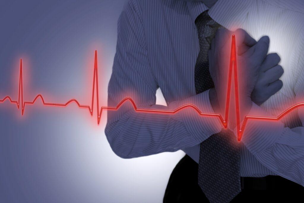狭心症による致死率