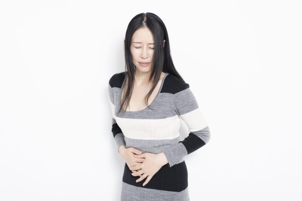 腸閉塞の女性