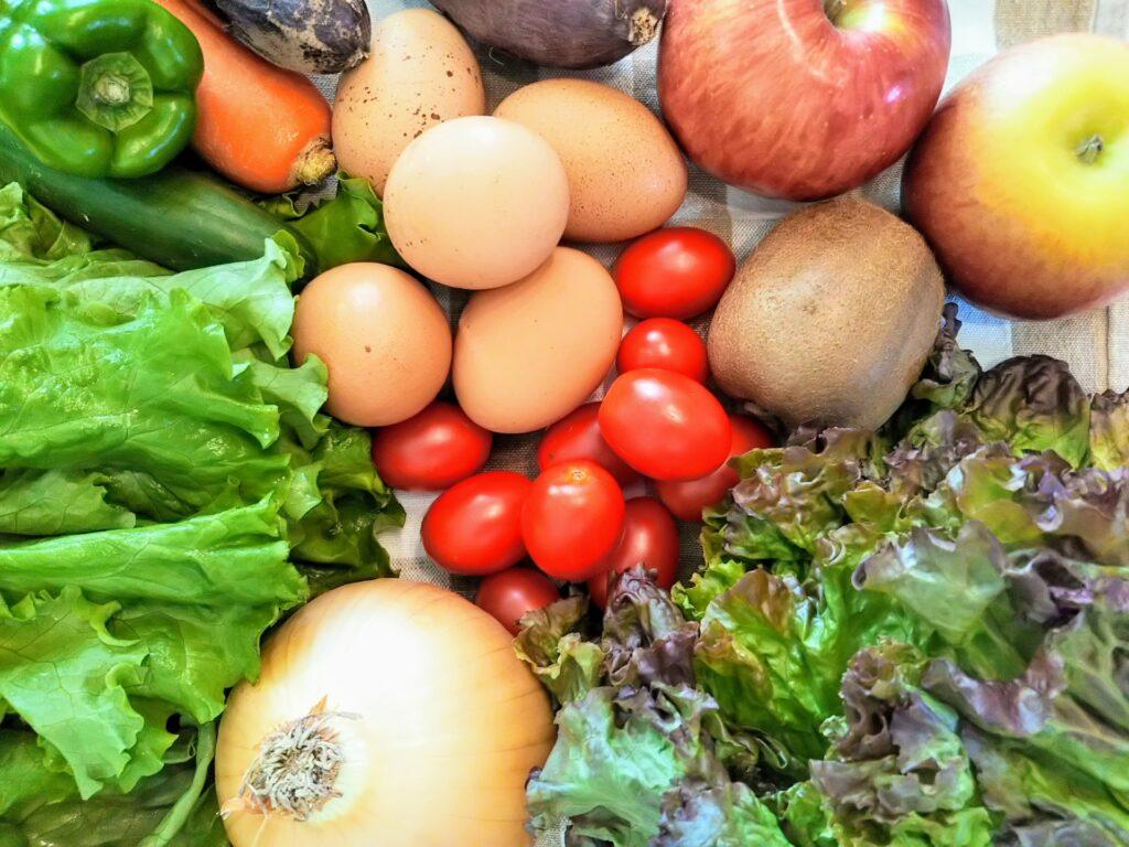 角質タイプの肌のくすみに栄養バランスの取れた食事