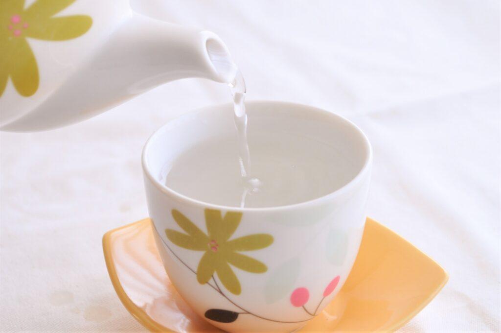 冷え性の改善に白湯