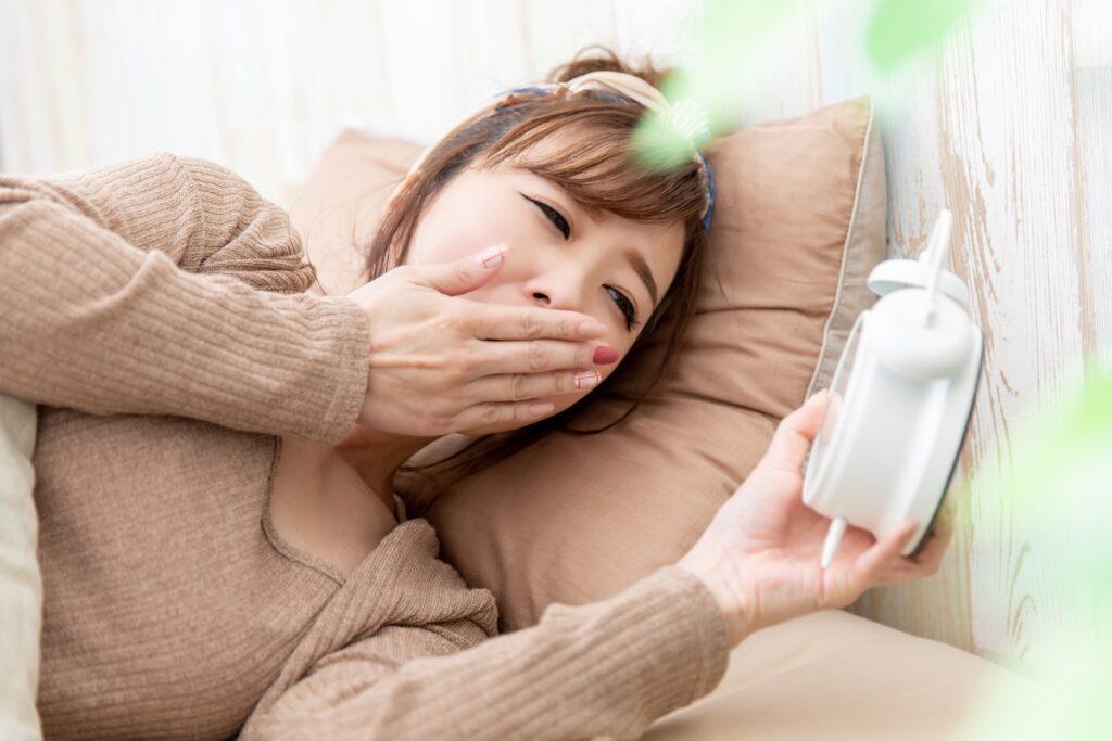 花粉症による眠気