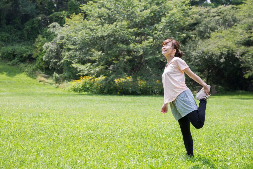 膝の痛みを解消した女性