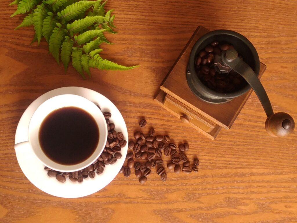 ポリフェノールの入ったコーヒー