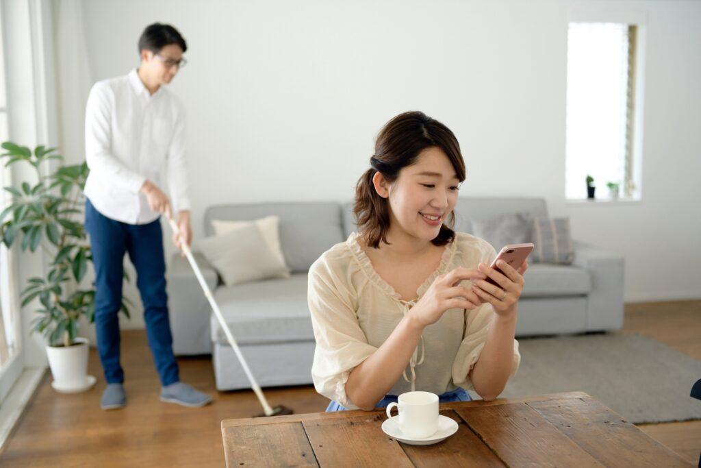 家事問題 夫の成長を見守る