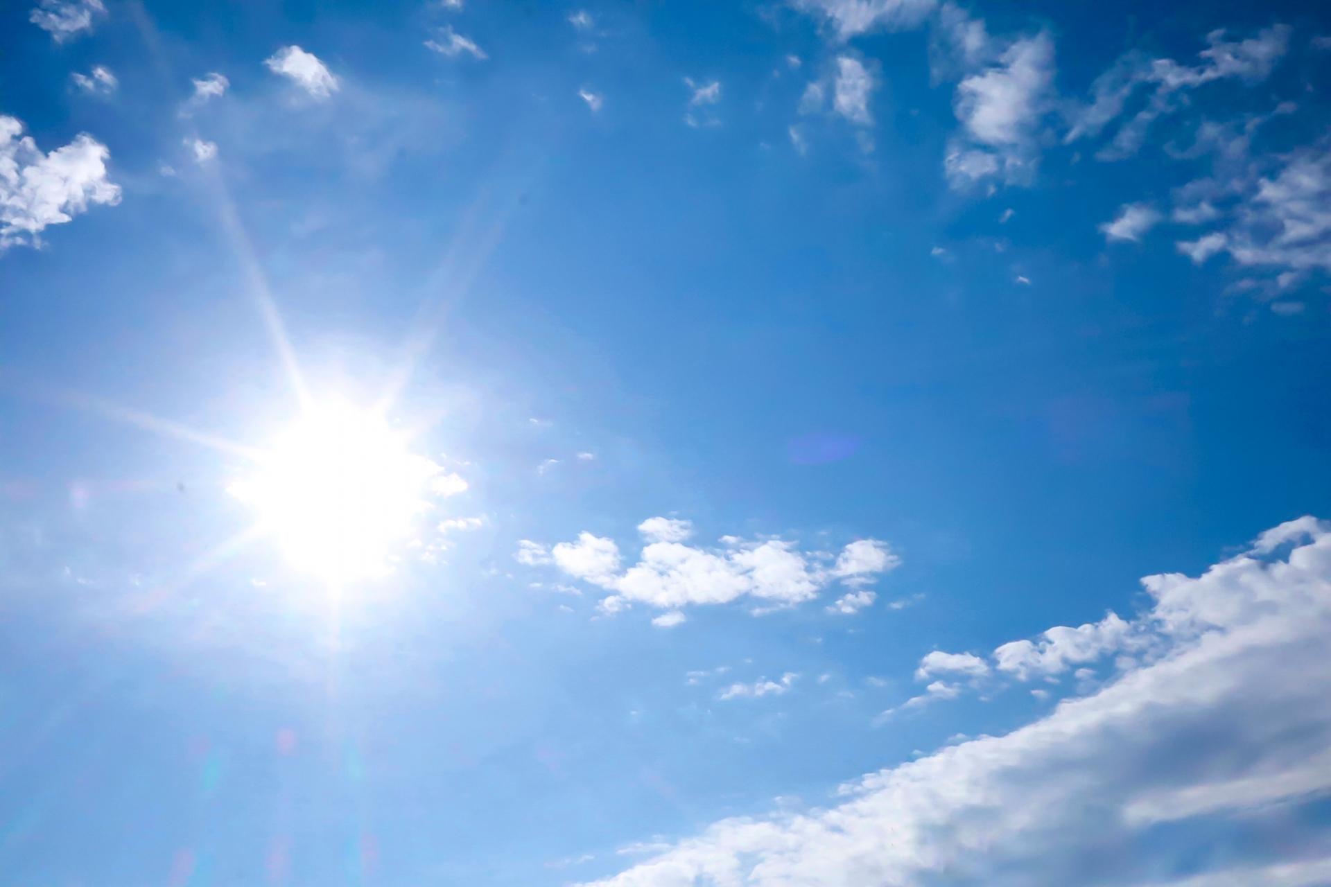 紫外線 太陽