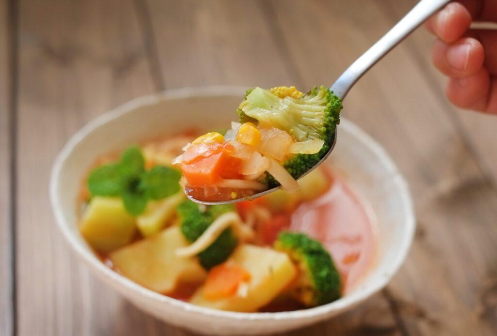 先野菜ダイエットにスープ