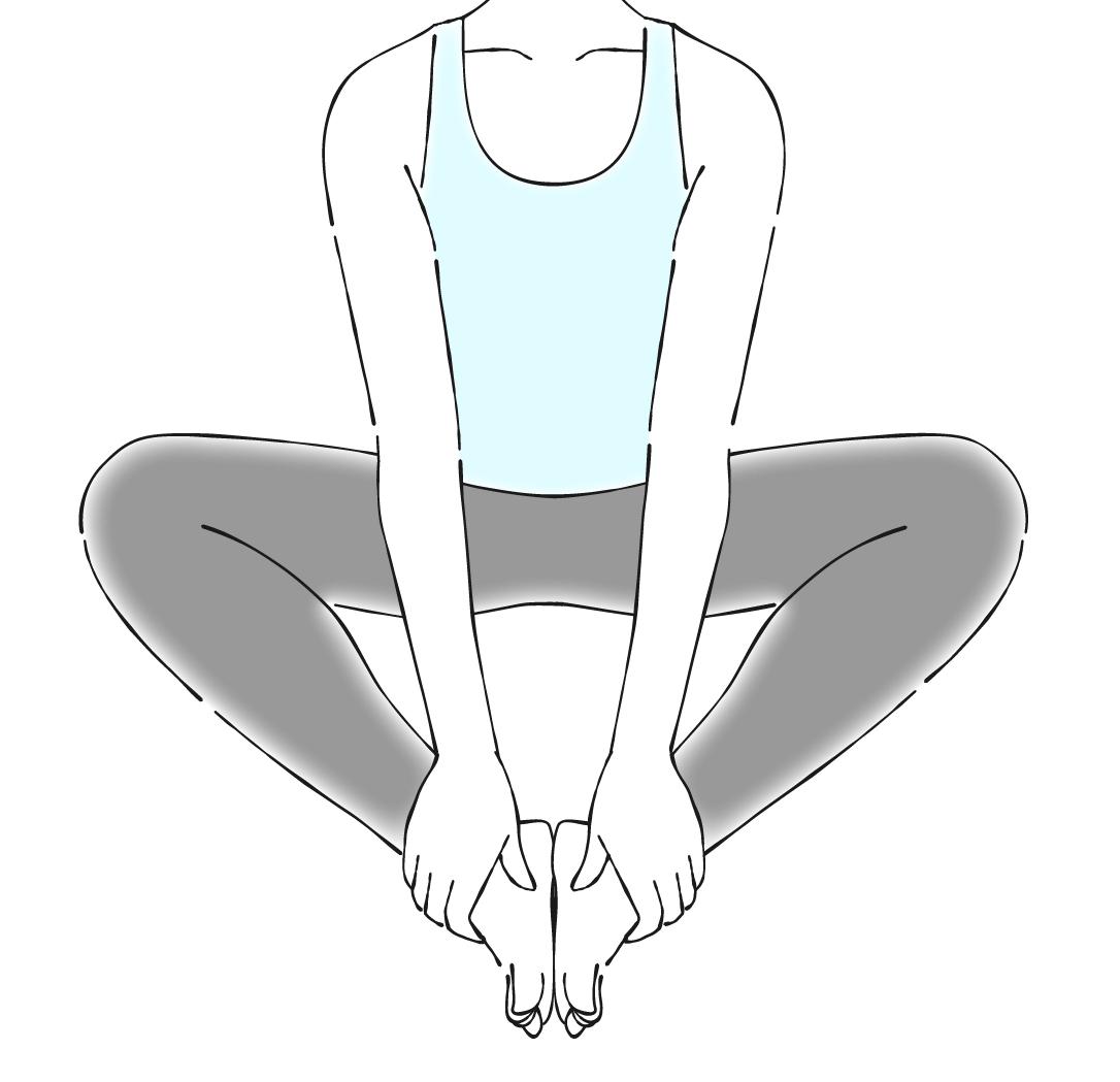 股関節を柔らかくするストレッチ