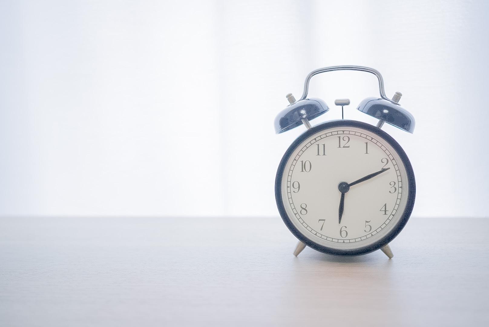 規則正しい生活 時計