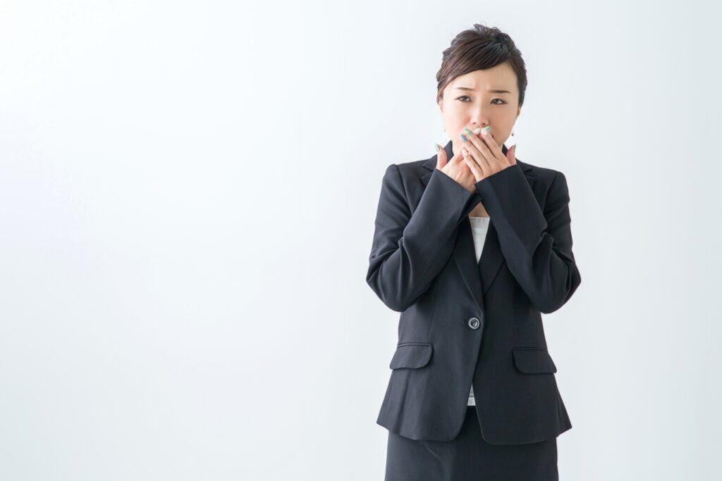 ホルモンと歯周病 口臭が耐えられない女性